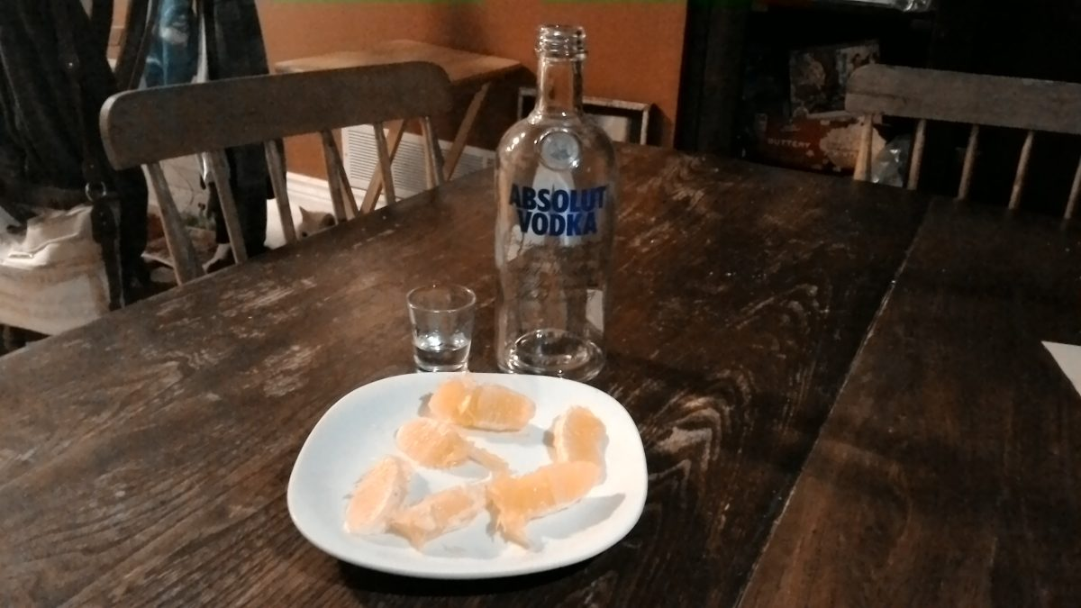 Vodka and Oranges
